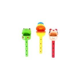 Wooden Animal Claker Stick BJ119